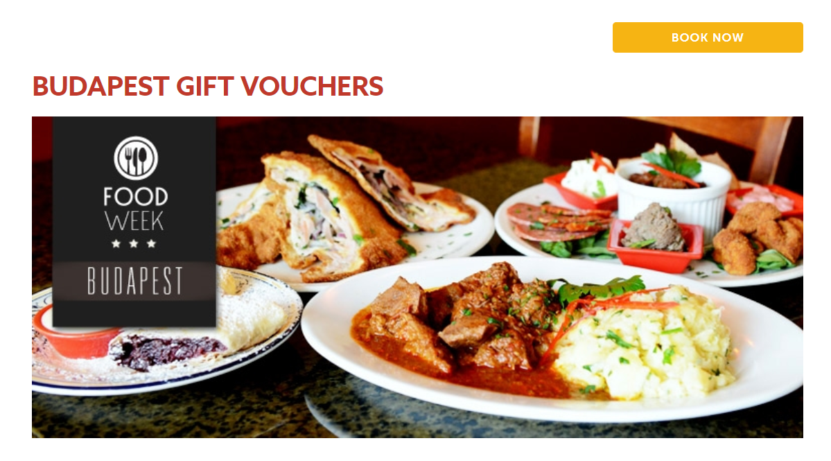 MOTHER'S DAY GIFT VOUCHERS